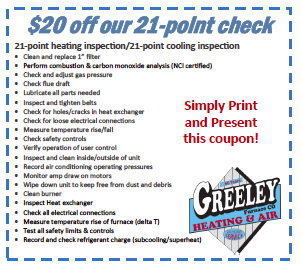 Greeley Furnace Discount $20 Off